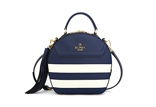 bonia-womens-sophia-leather-sonia-stripes-medium-darkblue