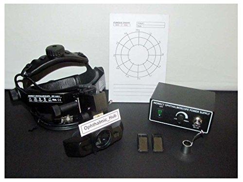 Kashsurg Halogen Binocular Indirect Ophthalmoscope Complete In Case Kl-19