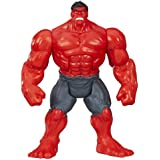 Marvel Avengers Assemble, Mighty Battlers Figure, Red Rage Hulk