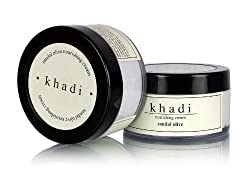 Khadi Sandal and Olive Nourishing Cream, 50g