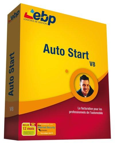EBP Auto Start - (Version 8 ) - Ensemble Complet - 1 Utilisateur - Win - Français