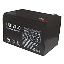 UPG UB12150 15Ah 12V AGM F2