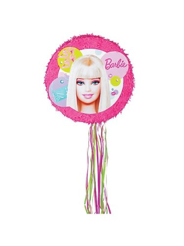Barbie Round Pull 2 Expand Pinata