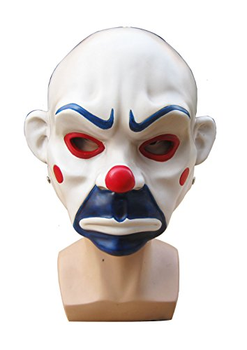 OM(TM) Resin Batman The Dark Knight The Joker Clown Adult Costume Mask