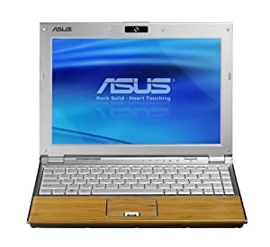 ASUS U6V-B1-Bamboo 12.1-Inch Laptop (2.53 GHz Intel Core 2 Duo T9400 Processor, 256 MB VRAM, 320 GB Hard Drive, Vista Business)