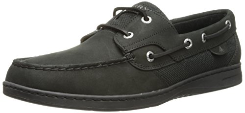 Sperry Top-Sider da donna Bluefish 2Eye Boat Shoe, nero (Black Ttg), 44,5 EU