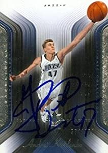 Andrei Kirilenko Autographed Hand Signed Basketball Card (Utah Jazz) 2005 Upper Deck... by Hall of Fame Memorabilia