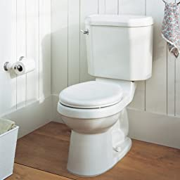 American Standard 2074.014.021 Two-Piece Doral Classic Champion-4 Elongated Toilet, Bone