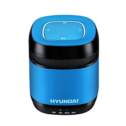 The Latest Stylish Hyundai I70 Portable Bluetooth Speaker /Support Line In / Pro Radio Fm Play (Blue)