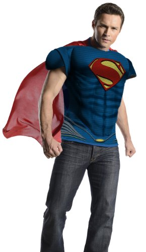 Rubie's Costume Man Of Steel Adult Muscle Top