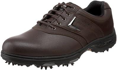 Callaway Men's XTT LT Saddle Golf Shoe,Brown,18 M US