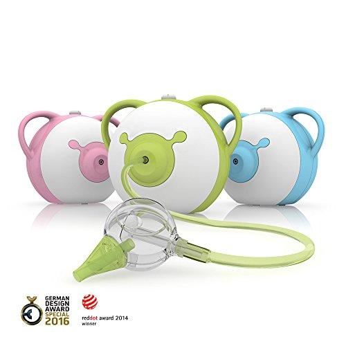 nosiboo-aspiratore-nasale-adatto-per-bambini-elettrico-verde-un-regalo-perfetto-per-il-baby-shower