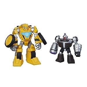 Playskool Heroes Transformers Rescue Bots Bumblebee and Morbot Figure Pack by Playskool Heroes