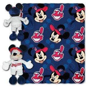Cleveland Indians Disney Hugger Blanket by Hall of Fame Memorabilia