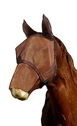 Kensington KPP Natural Look Catch Fly Mask with Nose/Ears, Sorrel, Medium