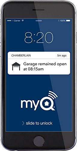 Chamberlain WD832KEVG Garage Door Opener, ½ HP, Ultra-Quiet Belt Drive Operation, Bundled With Chamberlain MyQ Internet Gateway For Smartphone Control