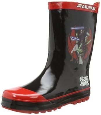 star wars boys kids rainboots boots sw300281 jungen. Black Bedroom Furniture Sets. Home Design Ideas