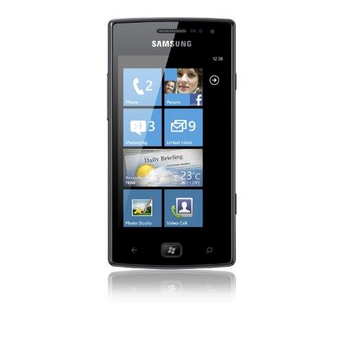 Samsung I8350 Omnia W Sim Free Mobile Phone - Black