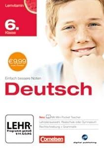 Lernvitamin - Deutsch 6. Klasse für Realschule und Gymnasium