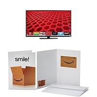 VIZIO E420i-B0 42-Inch 1080p LED Smart TV with $40 Amazon Gift Card