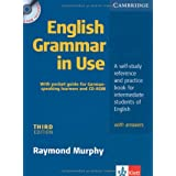 "English Grammar in Use: a Self-study Reference and Practice Book for Intermediate Students of English with Answers, (inkl. CD)von ""Raymond Murphy"""