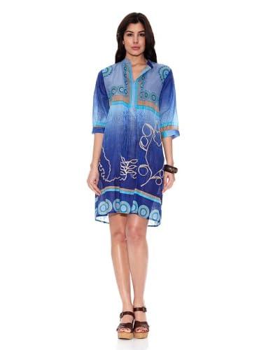 HHG Vestido Gina Azul