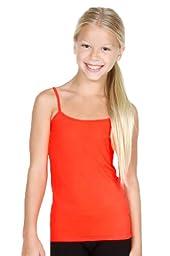 Sugarlips Girl\'s Seamless Spaghetti Strap Camisole (Red)