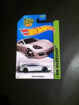Hot Wheels 2015 Model Porsche Panamera a Case - 1