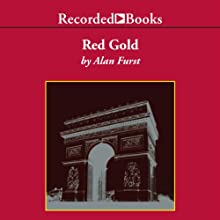 Red Gold Audiobook by Alan Furst Narrated by George Guidall