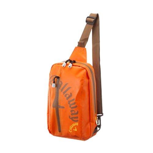 Callaway(キャロウェイ) 2014年 Waterproof ウォータープルーフ ボディー バッグ カラー オレンジ JM 5936101