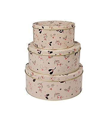 Eddingtons Christmas Cake Tins