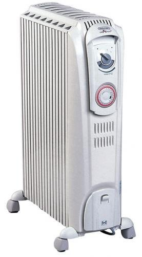 De Longhi Dragon 3 TRD0615T Oil Filled Radiator with Timer  1.5kW