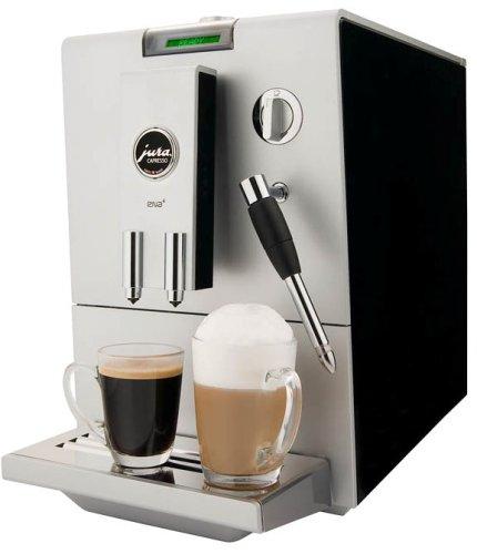 Jura 13421 Ena4 Automatic Coffee And Espresso Center, Ristretto Black/Platinum Front front-561254