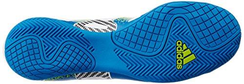 adidas Herren X 15.4 in Fußballschuhe, Weiß (Ftwr White/Semi Solar Slime/Core Black), 43 1/3 EU -