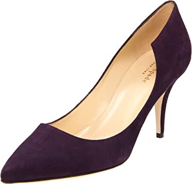 Kate Spade New York Women's Tilly Pump,Eggplant,11 M US