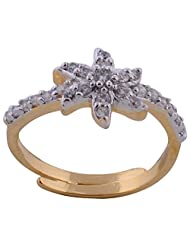 Affinity High Quality CZ Stones Gold Plated Ring For Women - B00PL9JDUI