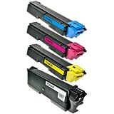 Set Toner für Kyocera TK 580-schwarz + color