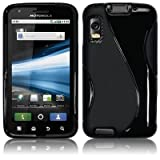 MOTOROLA ATRIX 4G GEL CASE - BLACK