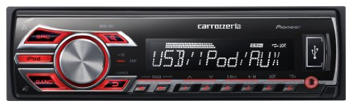 パイオニア carrozzeria USB/チューナーメインユニット MVH-380 MVH-380