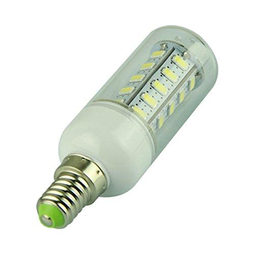Voberry E14 7W Led 36 5730 Smd 110V Corn Bulb Cool White Light (E14-White-110V)