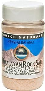 Source Naturals Crystal Balance Himalayan Rock Salt Fine Grind, 12 Ounce