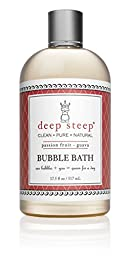 Deep Steep Bubble Bath, Passion Fruit Guava, 17.5 Ounce