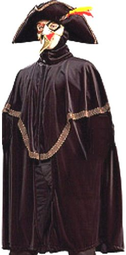 The Highway Man Renaissance Masquerade Adult Costume (4pcs)