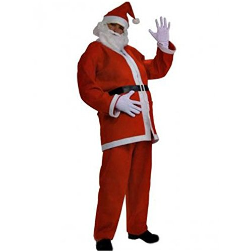 Mens Santa Claus Costume ★ Be Mr. Clause From North Pole This Christmas Holiday (Mr And Mrs Claus Costume)