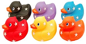 Patos de Baño para Bebé (Set de 6 - Seis Colores)