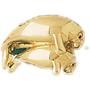 14k yellow gold dolphin ring jewelry
