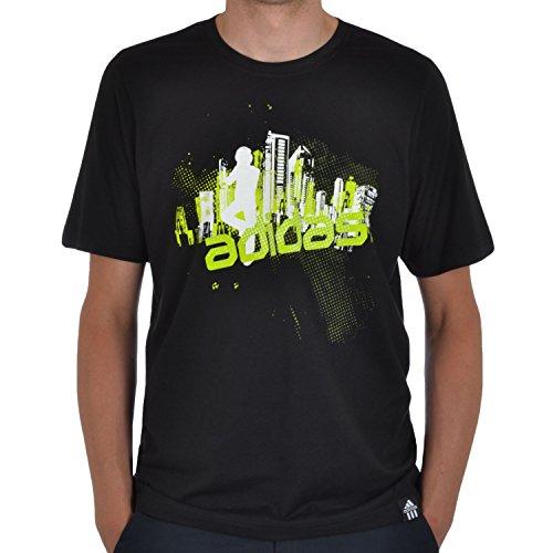 adidas -  T-shirt - Maniche corte  - Uomo Nero  nero