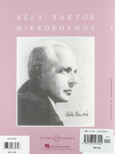 Bela Bartok: Mikrokosmos, Nos. 1-36: 153 Progressive Piano Pieces
