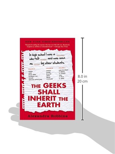 alexandra robbin's the geeks shall inherit Written by alexandra robbins, narrated by kathleen mcinerney download the app and start listening to the geeks shall inherit the earth today - free with a 30 day trial.