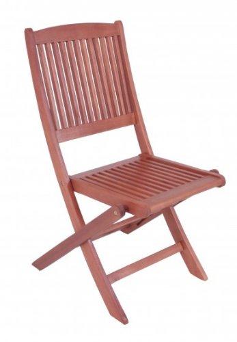 Gartenstuhl 2er Set Klappstuhl Eukalyptus FSC-Holz, geölt günstig kaufen